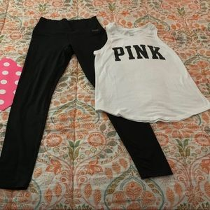 Pink Sport Outfit